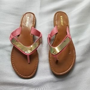 New Bamboo Sandals